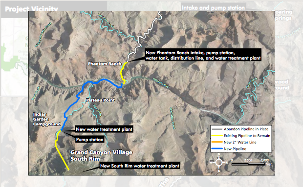 Trans-Canyon Waterline Replacement Update