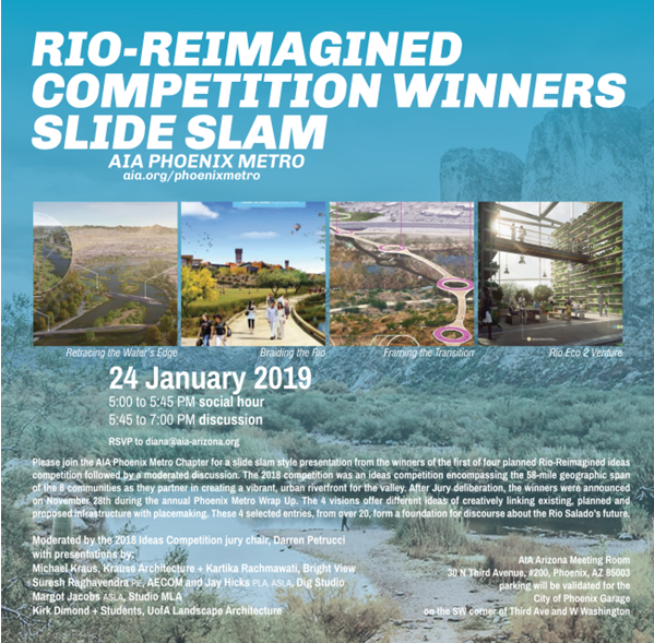 RIO-REIMAGINED Competition Winners Slide Slam @ AIA Arizona Meeting Room