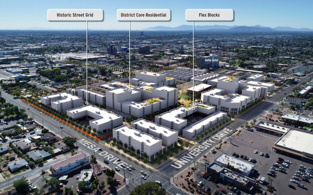 Developer Requested To Transform Mesa Site
