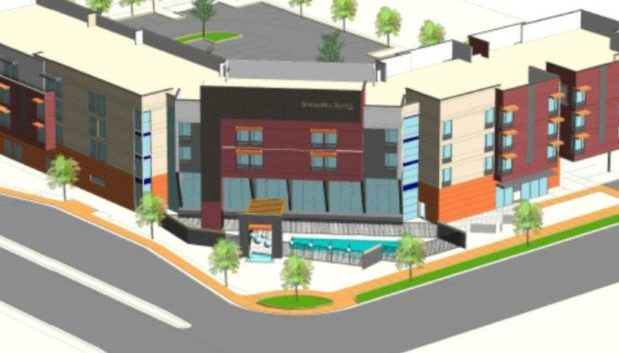New Springhill Suites Plans Submitted to Scottsdale