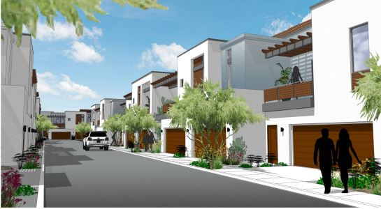Luxury Townhomes Proposed Near Peoria's Park West