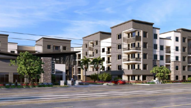 Multifamily Mixed-use Project Proposed for Tempe